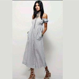 """Free People """"I Can't Get Over This Romper"""" WideLeg"""